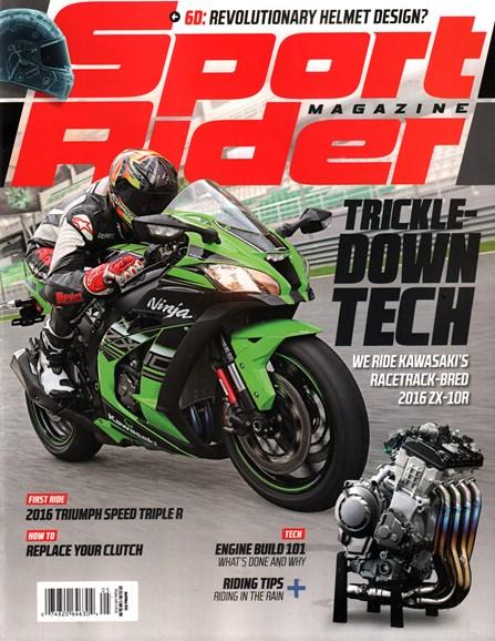 Sport Rider Cover - 4/1/2016