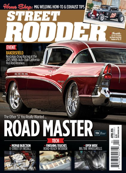 Street Rodder Cover - 4/1/2016