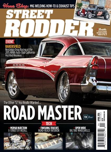 Street Rodder Cover - 4/1/2016