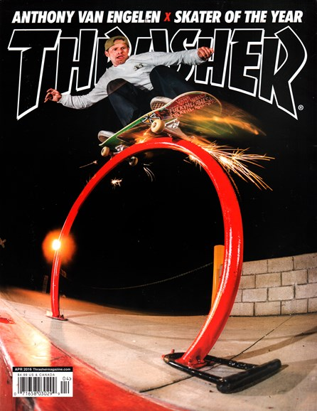 Thrasher Cover - 4/1/2016