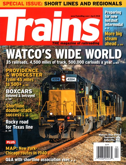 Trains Cover - 4/1/2016