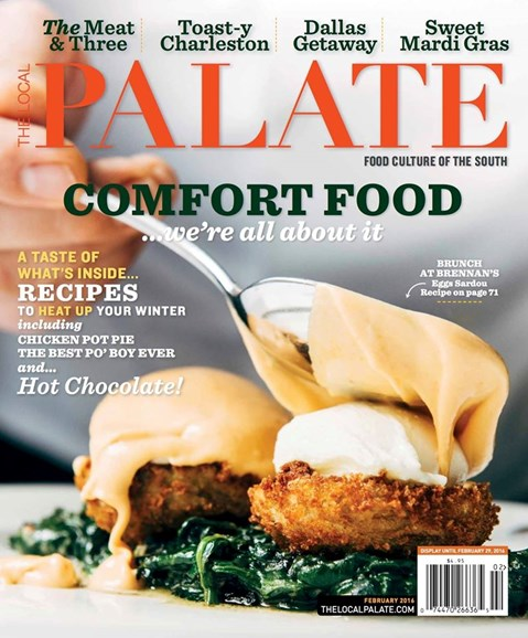 The Local Palate Cover - 2/1/2016