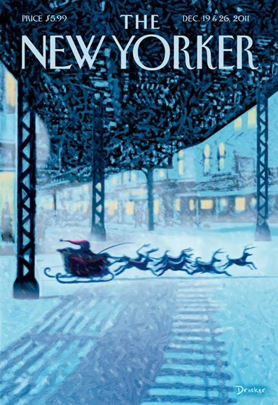 The New Yorker Cover - 12/19/2011