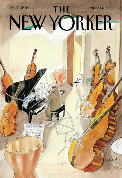 The New Yorker Cover - 11/14/2011