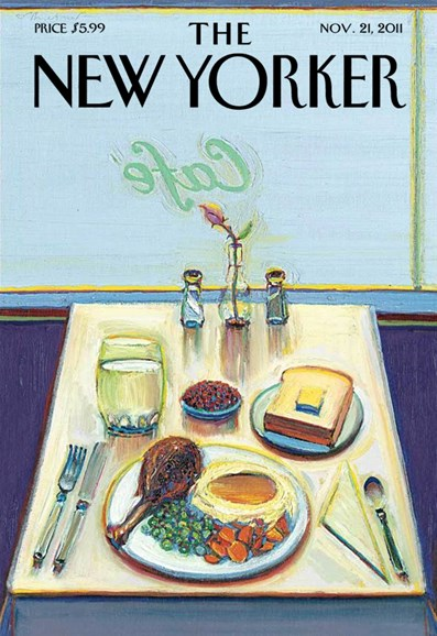 The New Yorker Cover - 11/21/2011