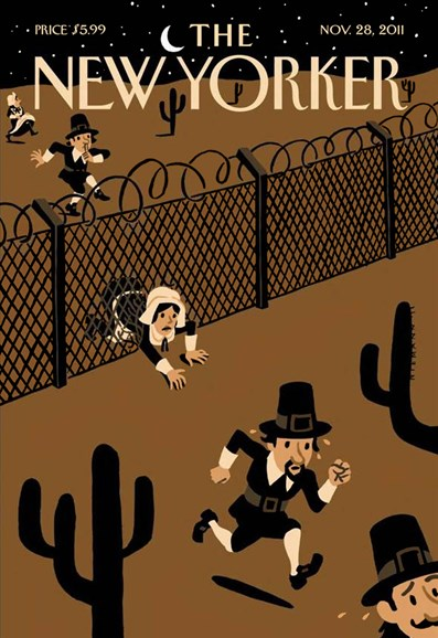 The New Yorker Cover - 11/28/2011