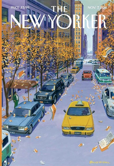 The New Yorker Cover - 11/7/2011