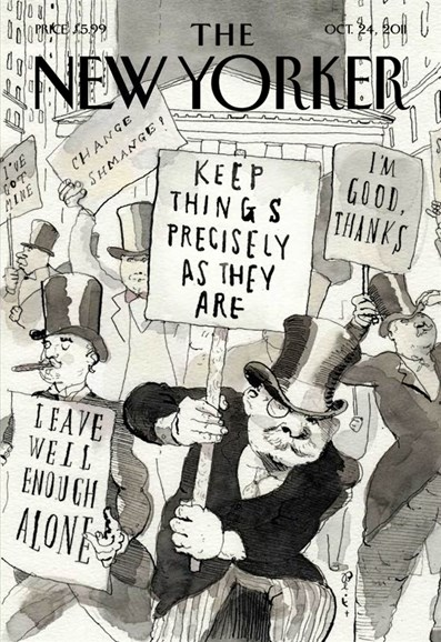 The New Yorker Cover - 10/24/2011