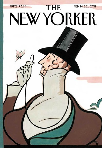 The New Yorker Cover - 2/14/2011