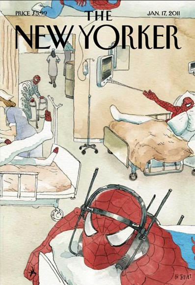 The New Yorker Cover - 1/17/2011