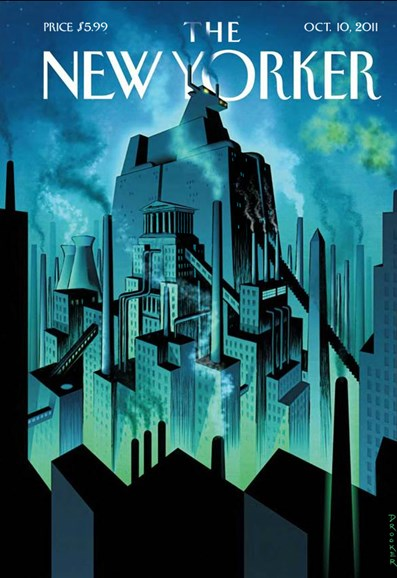 The New Yorker Cover - 10/10/2011