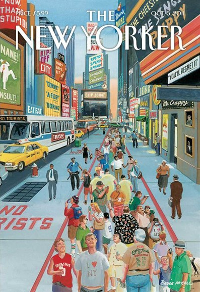 The New Yorker Cover - 10/3/2011