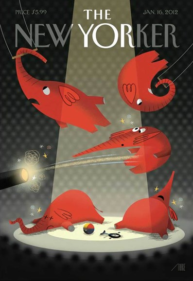 The New Yorker Cover - 1/16/2012