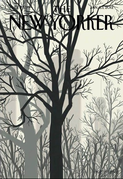 The New Yorker Cover - 1/23/2012