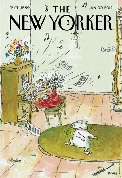 The New Yorker Cover - 1/30/2012