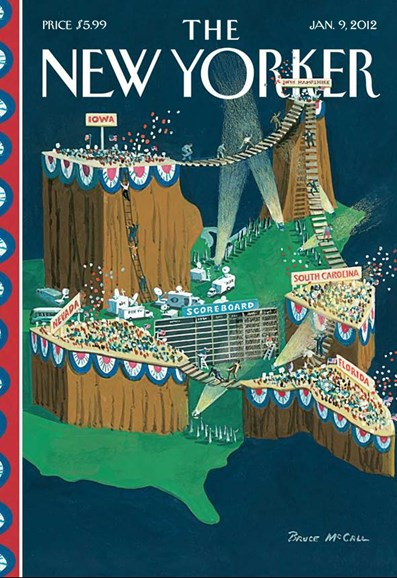 The New Yorker Cover - 1/9/2012