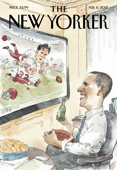 The New Yorker Cover - 2/6/2012