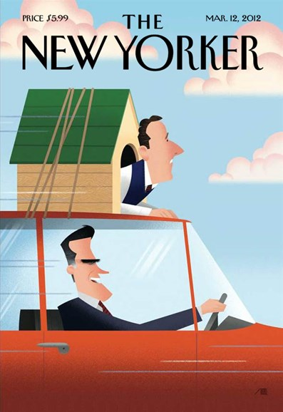 The New Yorker Cover - 3/12/2012