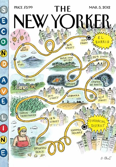 The New Yorker Cover - 3/5/2012