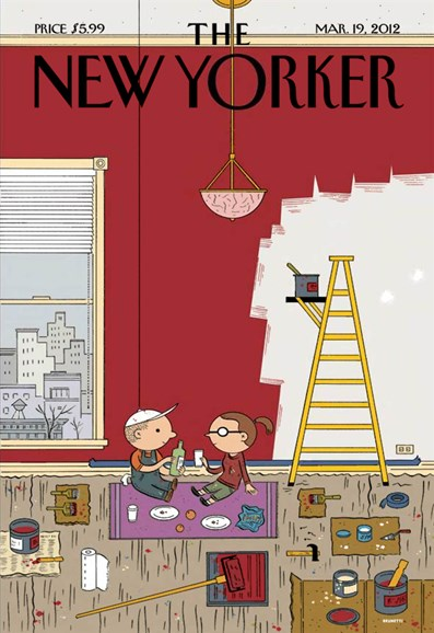 The New Yorker Cover - 3/19/2012