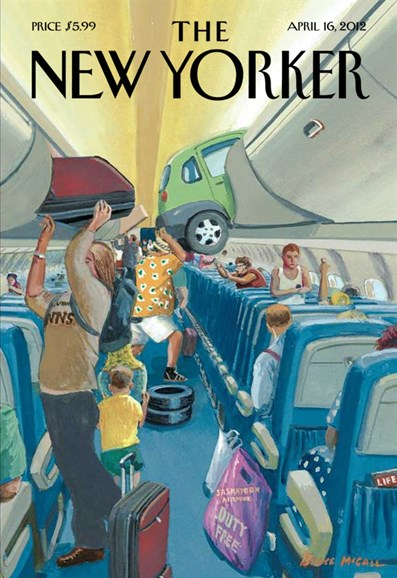 The New Yorker Cover - 4/16/2012