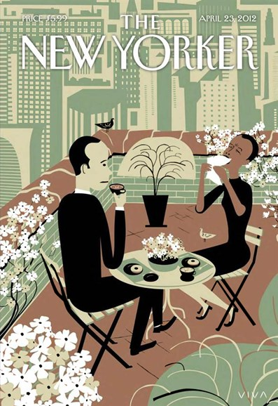 The New Yorker Cover - 4/23/2012