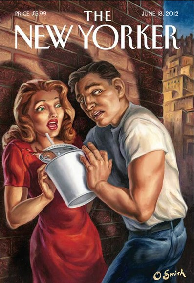 The New Yorker Cover - 6/18/2012