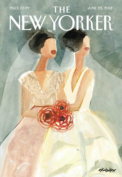 The New Yorker Cover - 6/25/2012