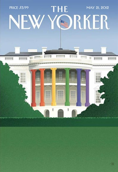 The New Yorker Cover - 5/21/2012