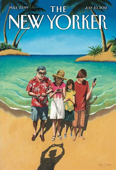 The New Yorker Cover - 7/23/2012