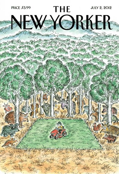 The New Yorker Cover - 7/2/2012