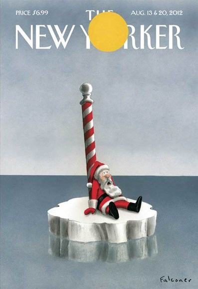 The New Yorker Cover - 8/13/2012