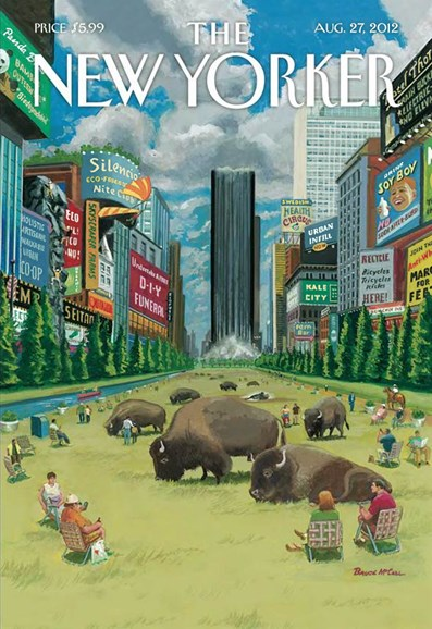 The New Yorker Cover - 8/27/2012