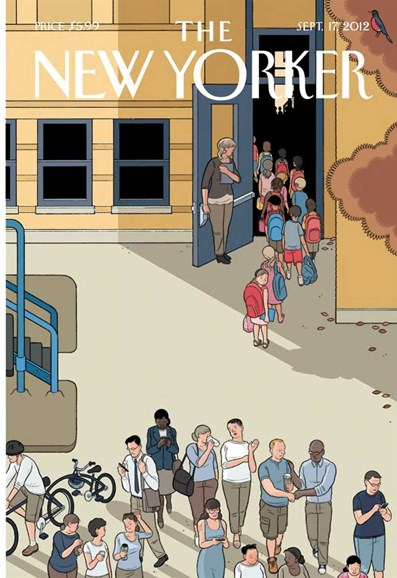 The New Yorker Cover - 9/17/2012