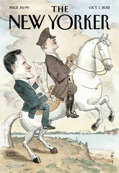 The New Yorker Cover - 10/1/2012