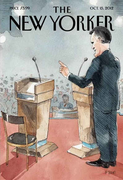 The New Yorker Cover - 10/15/2012