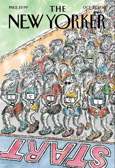 The New Yorker Cover - 10/22/2012