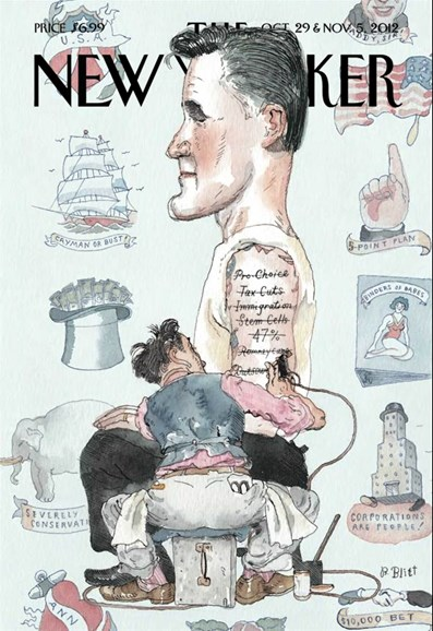 The New Yorker Cover - 10/29/2012