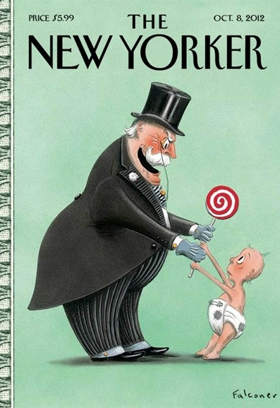 The New Yorker Cover - 10/8/2012