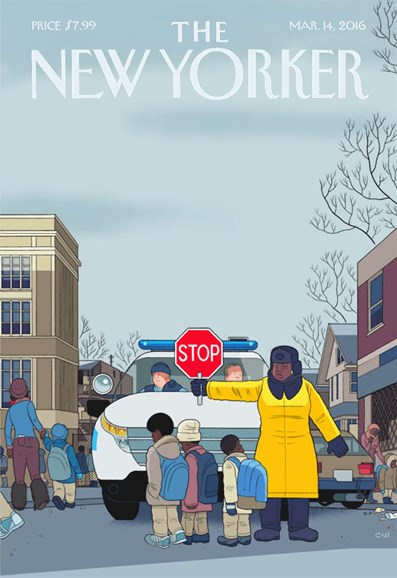 The New Yorker Cover - 3/14/2016