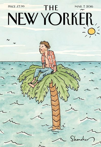 The New Yorker Cover - 3/7/2016