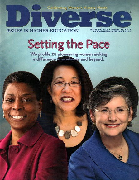 Diverse: Issues In Higher Education Cover - 3/10/2016