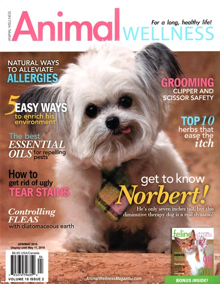 Animal Wellness Cover - 4/1/2016