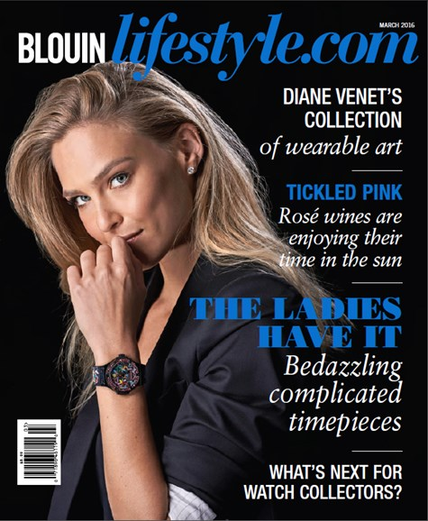 Blouin Lifestyle Cover - 3/1/2016