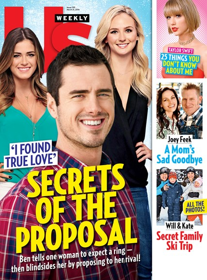 Us Weekly Cover - 3/21/2016