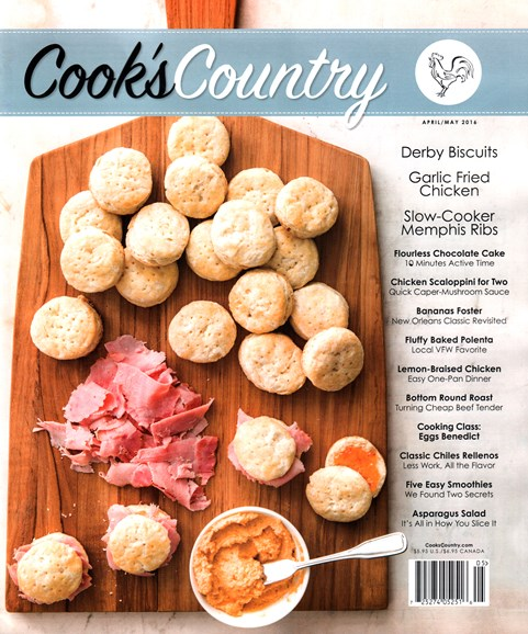 Cook's Country Cover - 4/1/2016
