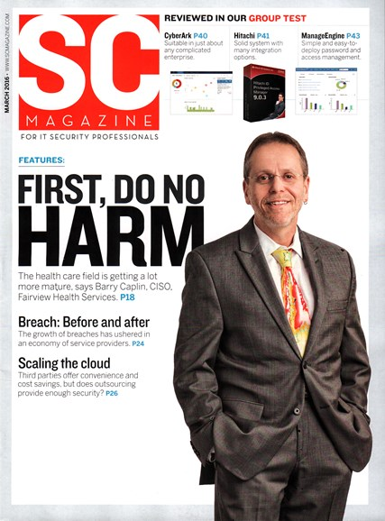 SC Magazine - U.S. edition Cover - 3/1/2016