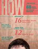 HOW Design Magazine 1/1/2012