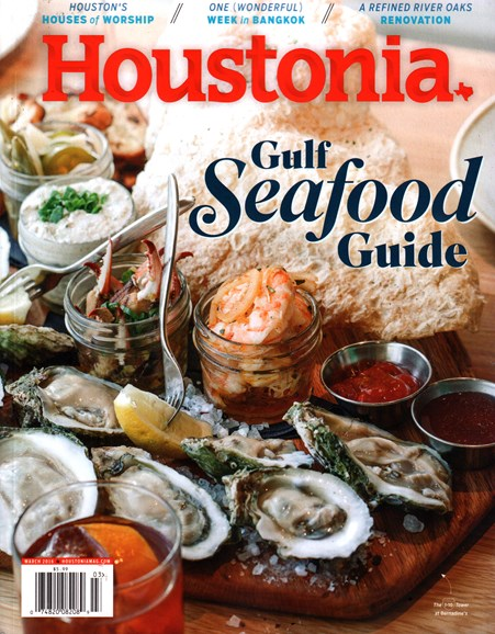Houstonia Cover - 3/1/2016