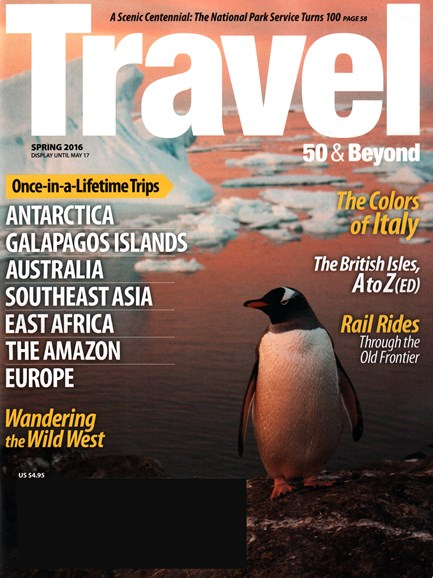 Travel 50 & Beyond Cover - 3/1/2016